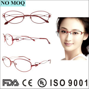 a3e1a6198ba75 Óculos de óculos de Titânio Full-Frame moda vidros ópticos Frame ...