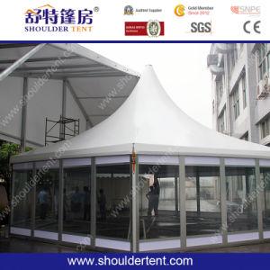 Hete Verkopende Hexagonale Tent met de Muur van het Glas (BR-G006)