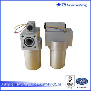 Точность фильтра гидравлического масла с помощью датчика давления