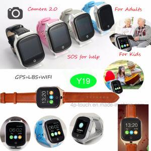 3G/WCDMA adultos da câmera de vigilância do Rastreador de GPS com GPS+lb+WiFi Y19