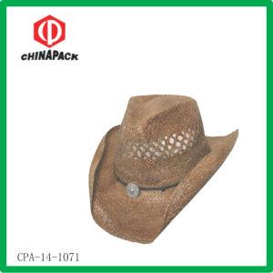 Cappello di paglia del cowboy della rafia (CPA-14-1071)