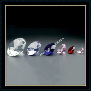 Crystal in bianco Diamond per Engraving con Different Colors