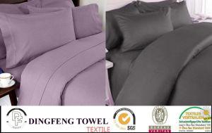 100%年の綿、PolycottonまたはMicrofiber Cotton Material Home Bedding Set、Verious Size Twin Full Queen King
