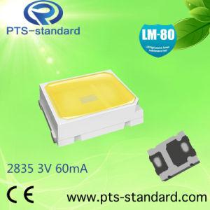 0,2 W de alta calidad 3V 60mA 2700K-650024-30k LM LED SMD 2835