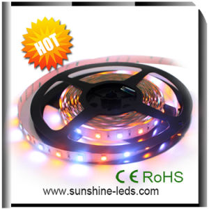 RGBA SMD5050 24V de la luz de las tiras de LED