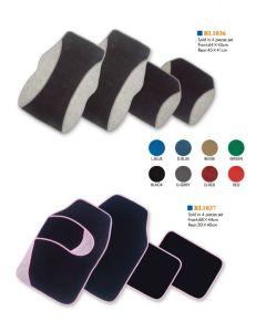 O PVC plástico e materiais de borracha tapete tapetes para automóveis (RL1036)