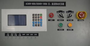 AC380V-900A/DC640V-1000A AC/DC Eingabe-Bank für Generator-Prüfung