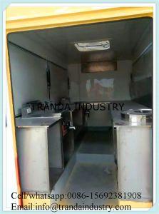 De op zwaar werk berekende Bestelwagens van de Verkoop van de Bank van de Cabine van het Voedsel van de Douane van de Kar van de Catering