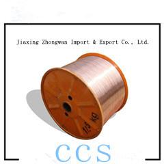 Aço revestido de cobre do fio do CCS (CCS CCS-3.00-0.12mm mm)