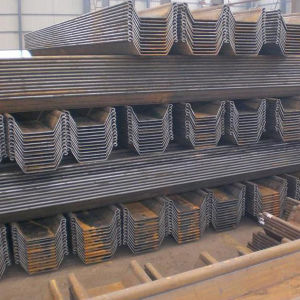 U Hoja de acero formados en frío tipo de pilas
