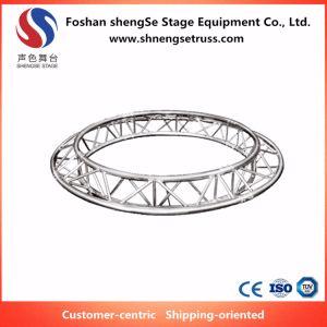 Shengse 단계 장비 알루미늄 프레임은 낭만주의 결혼식 통로에 의하여 디자인된 성과를 위한 모양 Truss를 주문을 받아서 만들었다