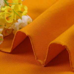 Boa rigidez sarjado vestuário de algodão Tecido de poliéster