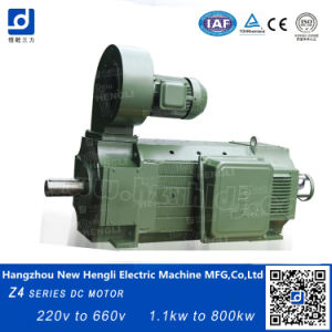Nuevo Hengli ce Z4-160-31 22kw 1000 rpm motor DC de 400 V.
