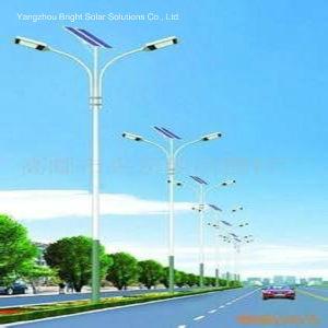 LED de alta potencia solar híbrida de la luz de la calle