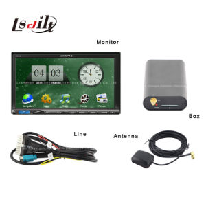 Selling caldo Car GPS Navigation Box per Alpine