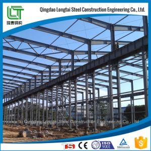 Taller de estructura de acero de alta calidad de construcción con