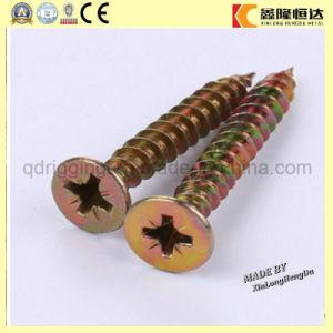 Zubehör-Spanplatte-Schraube mit Pozi Laufwerk Twinfast Gewinde-Holz-Schraube