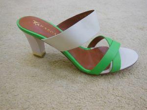 Fashion PU Lady sandale Chengdu SS15 coloré