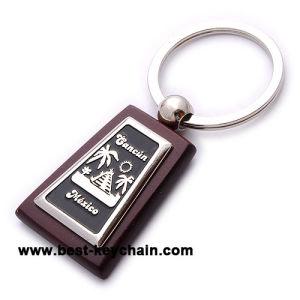 Classic personnalisé promotionnel spécial de la chaîne de clé de souvenirs en bois (BK53141)