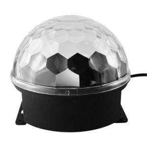 IP20 1*6W ABS etapa el Equipo de DJ Bola mágica luz de LED de iluminación