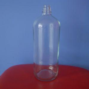 Bottiglia di vino, bottiglia di whisky, bottiglia di vetro della vodka