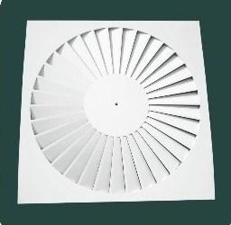 Difusor de ar da borboleta de turbulência (DAU-1)