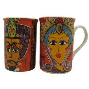 De in het groot Mok van het Bureau van de Mok van de Koffie van het Porselein van het Been van de Douane Ceramische