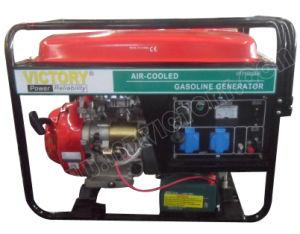 gerador portátil Soundproof da gasolina 5.5kw com certificações de CE/Soncap/CIQ