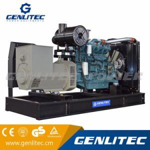 Économiser du carburant 240kw/300 kVA Doosan avec groupe électrogène Stamford alternateur