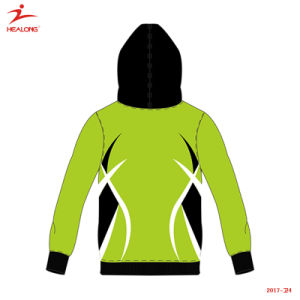 Healong Hoodie를 인쇄하는 최고 판매 운동복 새로운 디자인 가득 차있는 승화