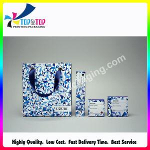 Design de Mode de haute qualité de papier couché sac cosmétique avec poignée