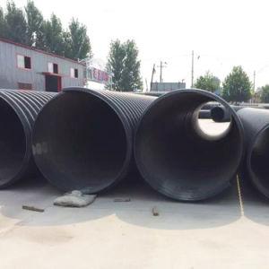 Tubo flessibile ondulato dell'HDPE dell'acqua del doppio 500mm