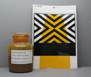 Het transparante Gele Oplosmiddel van /Pastes van de Verspreiding van het Oxyde van het Ijzer