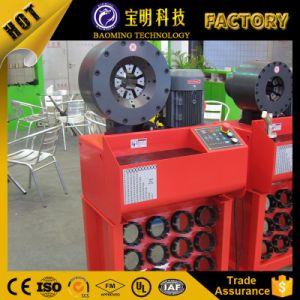 工場セリウムのフィン力の高圧油圧ホースのひだが付く機械