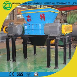 高品質プラスチックペーパーのための二重シャフトのシュレッダーか押しつぶす機械かタイヤまたは木または泡
