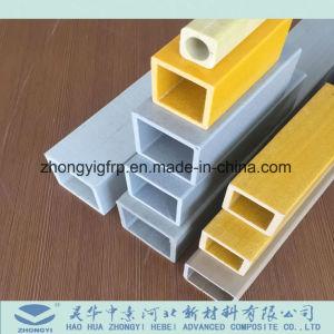 De Vierkante Pijp van de Glasvezel FRP GRP voor Industrie