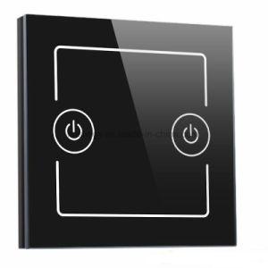 タッチ画面のパネルが付いているカスタマイズされたガラス押しスイッチ