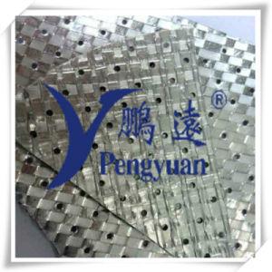 Ткани Perforated излучающей алюминиевой фольги барьера покрытые сплетенные для холодильника