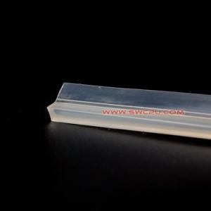 Goma de la extrusión de PVC Sunproof junta de la cubierta de polvo de Gaza para perfiles de plástico