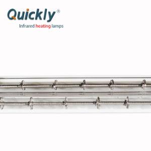 対の管の水晶赤外線ヒーターの要素2000W