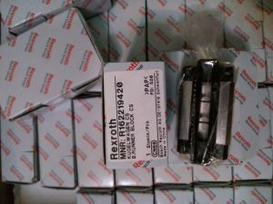 Bloque de la deslizadera Rexroth R162219420 lineal de la guía lineal el bloque deslizante