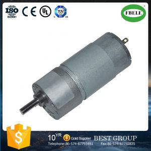 24 V CC motorreductor con motor eléctrico de cepillo