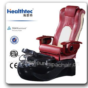 Beauté magasin d'ongles nail chaise avec Foot-Bath109-5102 Fiber-Glass baignoire (C)