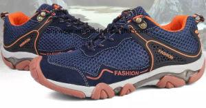 Nuevo lanzamiento de zapatillas al aire libre de Calzado de Trekking zapatos de escalada de los hombres (851)