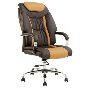 高い背部人間工学的のレザーの主任のオフィスの回転式椅子(FS-8600)