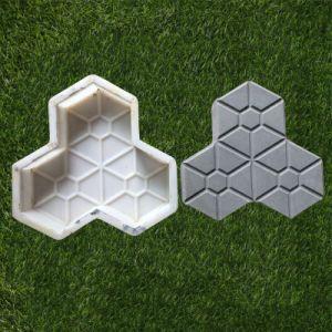 De concrete Vormen van de Betonmolen van de Tegel van het Cement van het Blok van de Vorm van het Blok Plastic