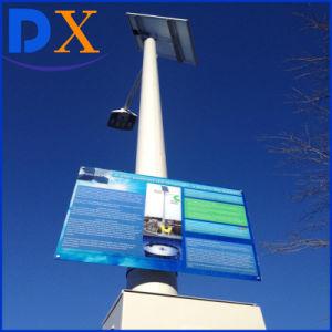 IP67 4m、6m、7m、8mポーランド人の太陽動力を与えられたLEDの太陽ライト3年の保証80W