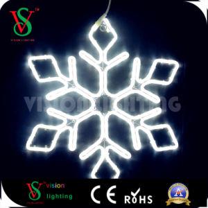 Wasserdichtes Verzierung-Weihnachtshängende Schneeflocke-Lichter