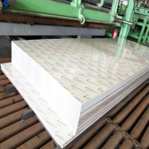 PE bedekte Blad van het Aluminium van de Legering van Aluminium 1100 het Geschilderde voor het Product van de Dakgoot met een laag