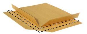 Folha de deslizamento de papel virgem utilizada como porta-paletes de papel em Trasportation